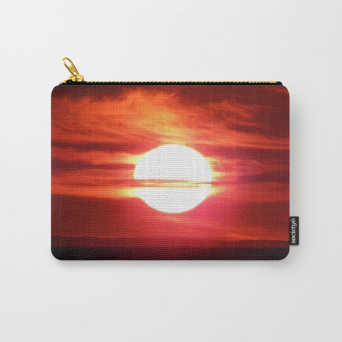 Fireball Above the Saint-Lawrence Carry-All Pouch