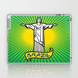 Christ the Redeemer statue in Rio de Janeiro, Brazil Laptop & iPad Skin