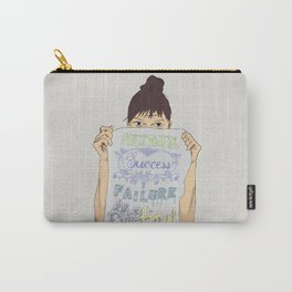 Positive about Ambiguity Carry-All Pouch