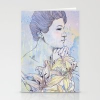 virgo Stationery Cards featuring Virgo by Csangal