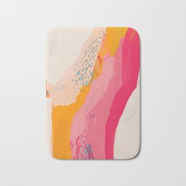Abstract Line Shades Bath Mat