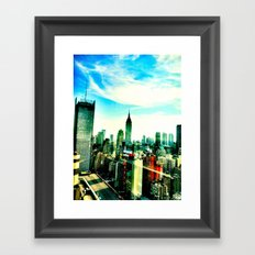 New York by iPhone 1 Framed Art Print