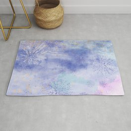 Abstract Distraction, Pink, Purple, Blue Rug