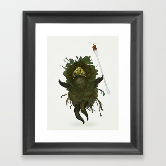 King Kawak Framed Art Print