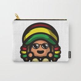 Rasta Mushroom Carry-All Pouch