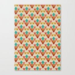 Retrospect, Triangle Nonet, No. 02 Canvas Print