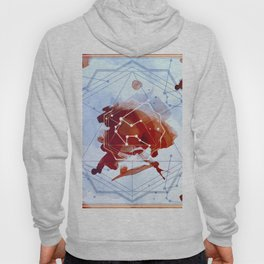 Constellation Set - January Aquarius / Garnet Hoody