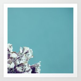 Blue with a hint of... Art Print