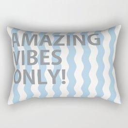 Amazing Vibes Only Rectangular Pillow