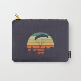Paragliding Sunset Carry-All Pouch