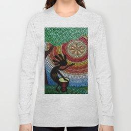 Kokopelli. God of fun and fertility Long Sleeve T-shirt