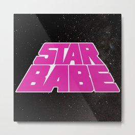Star Babe Metal Print