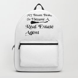 My Broomrealestateagent Backpack