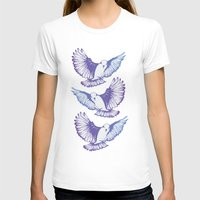wings T-shirts featuring Wings by Kellie Jerrard