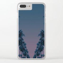 Cali Angle Clear iPhone Case