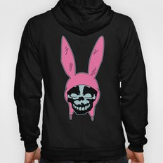 Grey Rabbit/Pink Ears Hoody