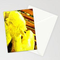 Amarillo Animal Stationery Cards