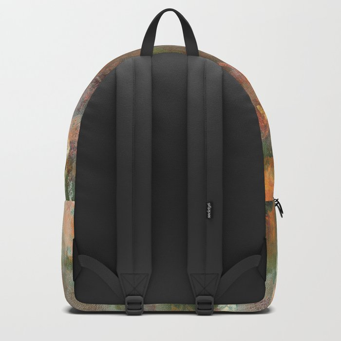 Dark Presence, Abstract Art Painting, Itaya Backpack