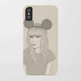 Mouse Girl iPhone Case