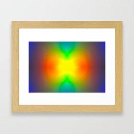 The Splitting Universe. Framed Art Print