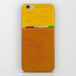 Yellow Horizon iPhone Skin