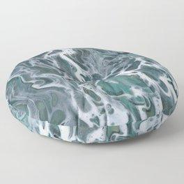 Waves crashing Floor Pillow