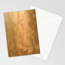 Brushed Copper Metallic - Beautiful - Rustic Glam - Fancy Faux Finishes - Metallic Paint Stationery Cards