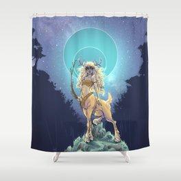 Golden Hind Shower Curtain