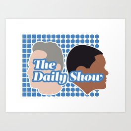 The Daily Show Art Print