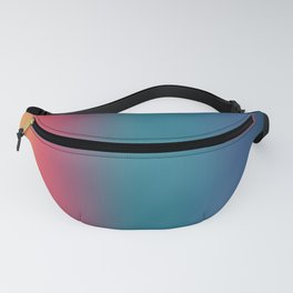 Hiroyoshi - Abstract Classic Design Color Gradient Fanny Pack