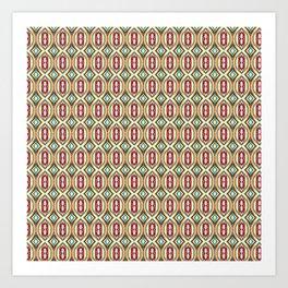Color Weave Art Print
