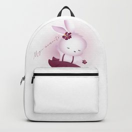 Magic moments bunny character  Backpack