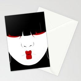 Modern Geisha #2 Stationery Cards