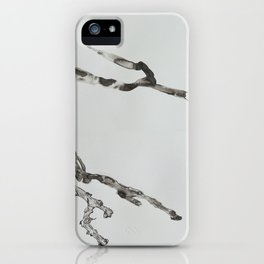 DETERIORATION OF A TWIG iPhone Case