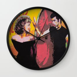 Danny and Sandy Wall Clock