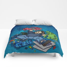 Boys and Their Toys Comforters
