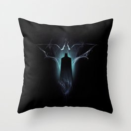 Dark Vapour Throw Pillow