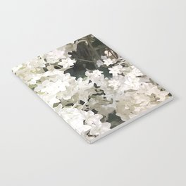 Small white flowers Notebook