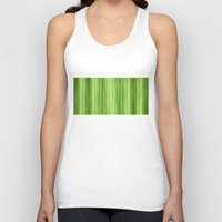 lime green Tank Tops featuring Ambient 3 in Lime Green by Bruce Stanfield