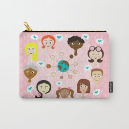 celebrating women international day Carry-All Pouch