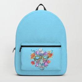 man of flowers Backpack