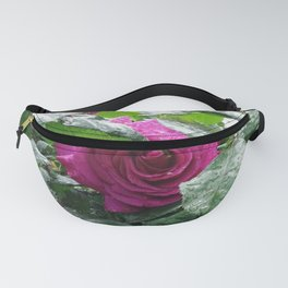 Rose After the Rain Fanny Pack