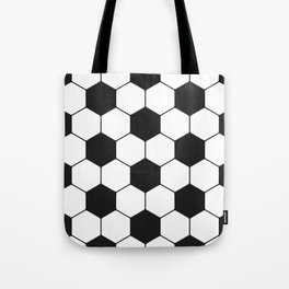 Soccer ball pattern Tote Bag