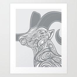 Dall Ram Art Print