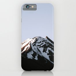 Snow in Mountain iPhone Case
