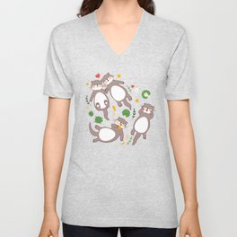 Significant otters Unisex V-Neck