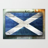 scotland Canvas Prints featuring Scotland by Arken25