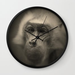 Monkey  Wall Clock