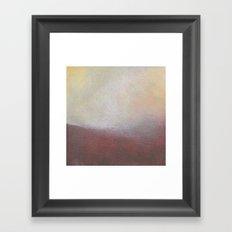 Earthy Wave Framed Art Print