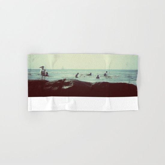 coastal vibes Hand & Bath Towel